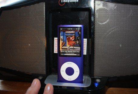 Ipod nano purple 2010