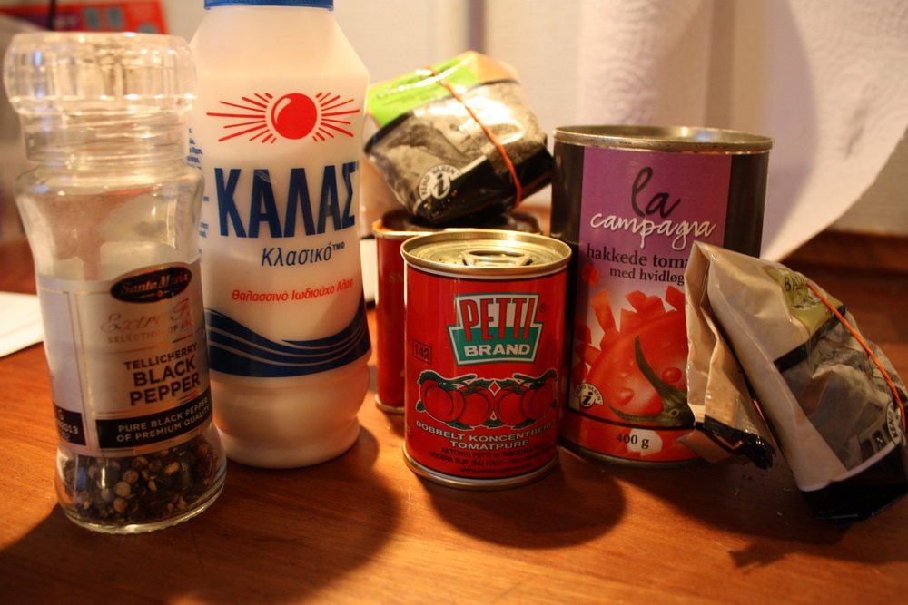 things needed for homemade lasagne