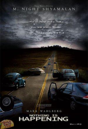 funny poster m night shyamalan the happening