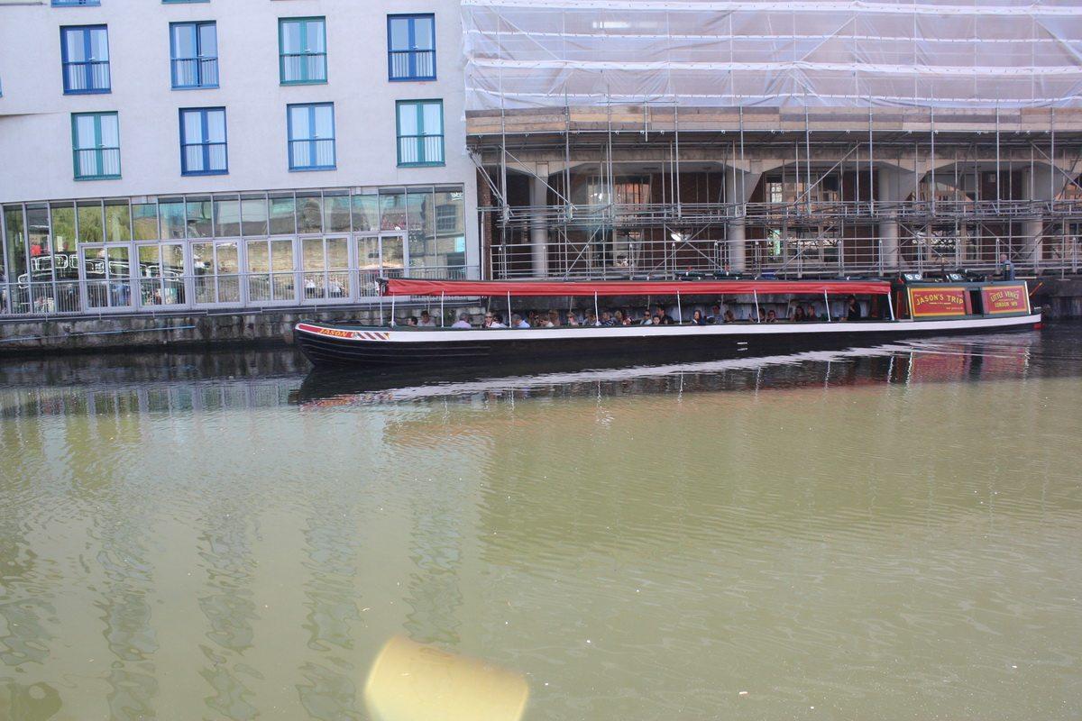 Boat ride in Camden Market