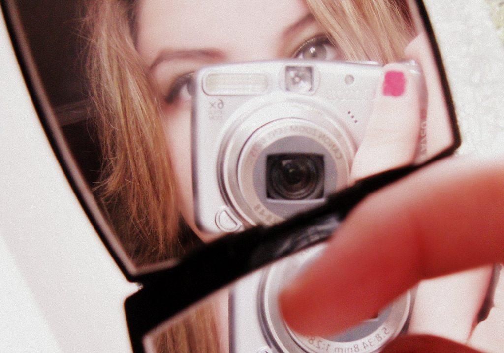 tiny mirror selfie leahsephira