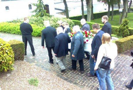 begravelse af min kære gudmormor