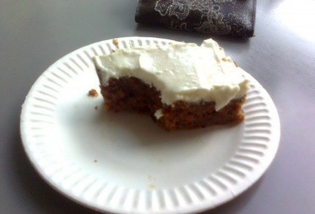 Carrot cake and louis vuitton wallet