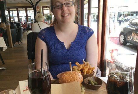 burger med maiken på cafe vivaldi