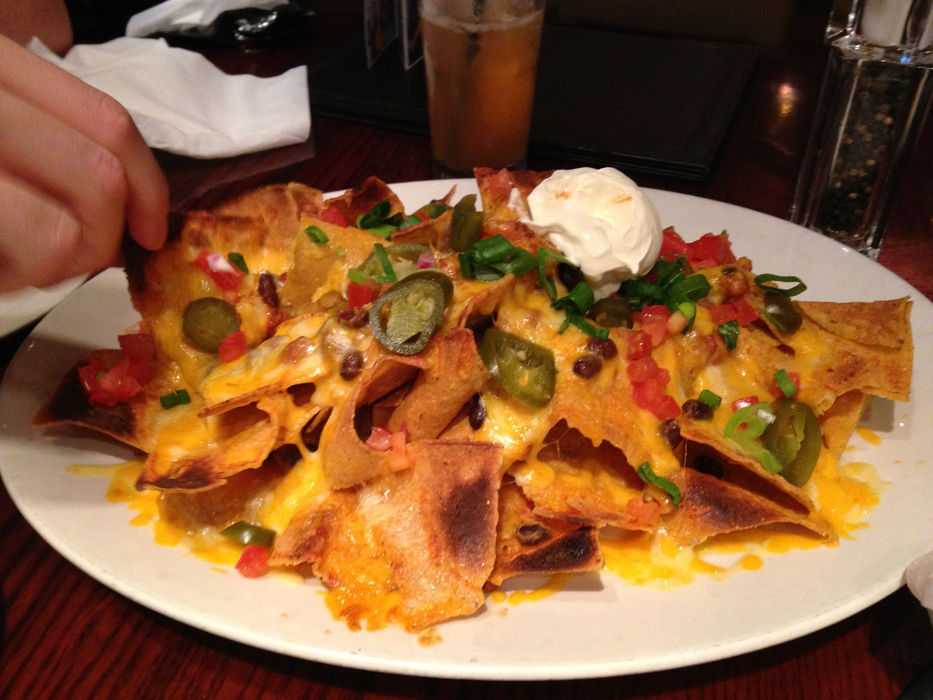 Hard rock nachos