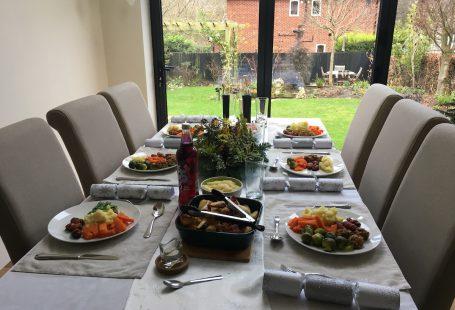 Christmas table in bollington 2016