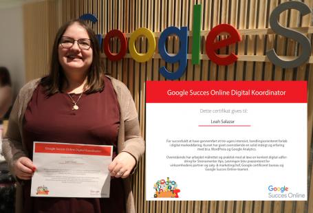 Leah Salazar Google Digital Coordinator certificate