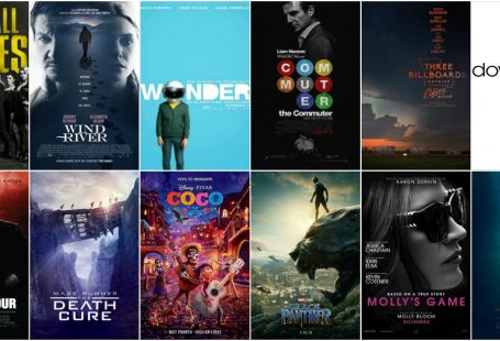 Movies in the cinema 2018