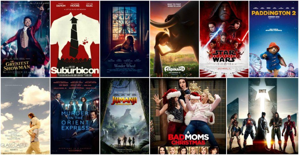 Movies in the cinema november december 2017