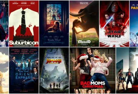 Movies in the cinema november december 2017