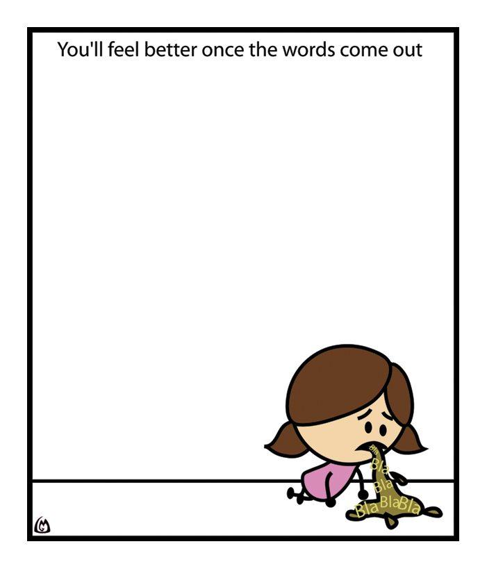 word vomit photo