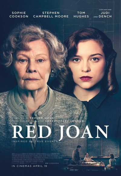 Red Joan movie poster 2019