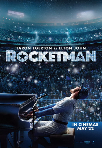 Rocketman movie poster 2019