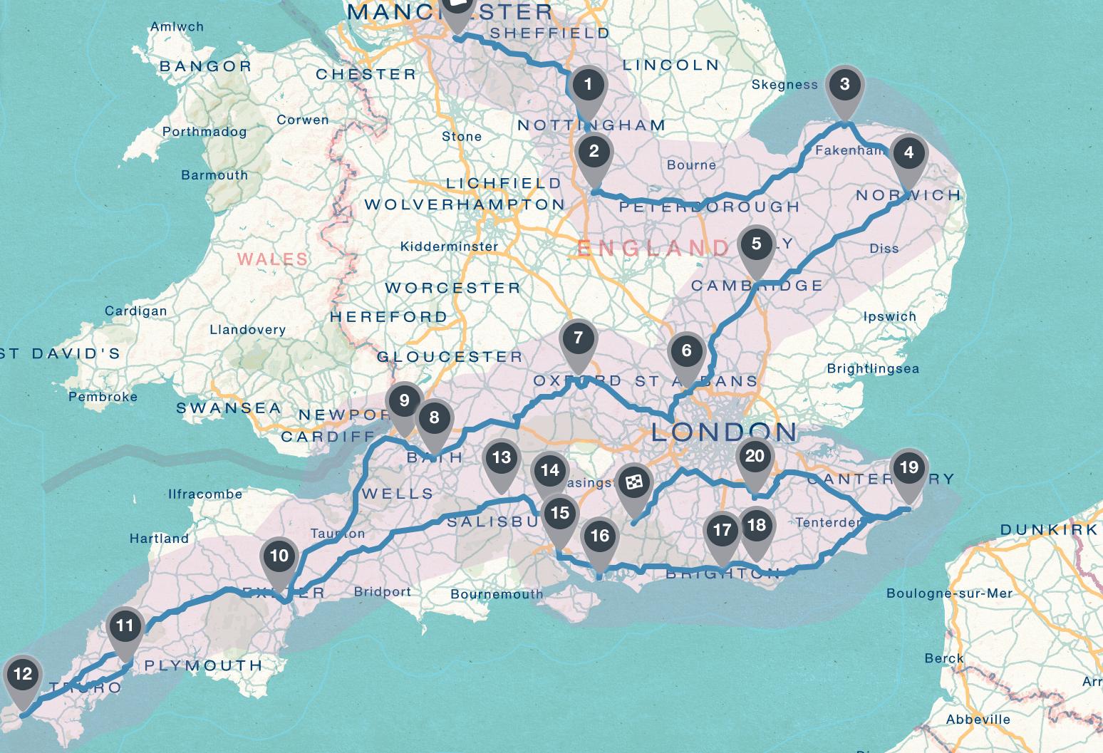 Southern England Roadtrip — Sephira
