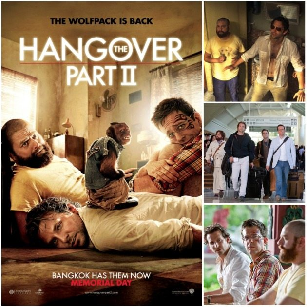 the hangover part 2 collage
