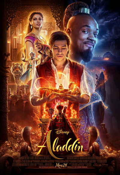 aladdin movie poster 2019