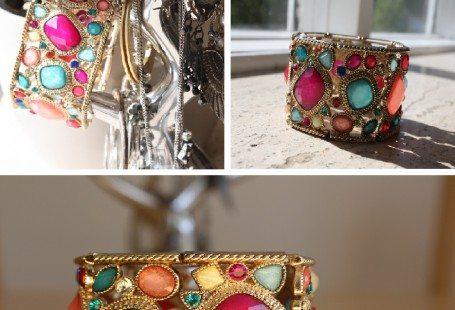 H&M bracelet colorful 2010