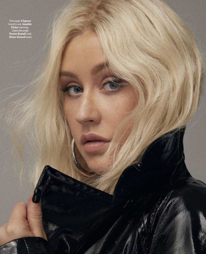 christina aguilera makeup natural look