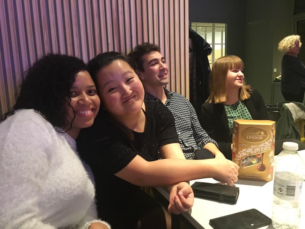 camilla, kristina, martin and vanessa - google digital coordinator