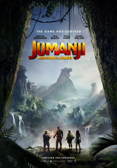 Jumanji jungle poster
