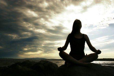 meditation 2010 stock image