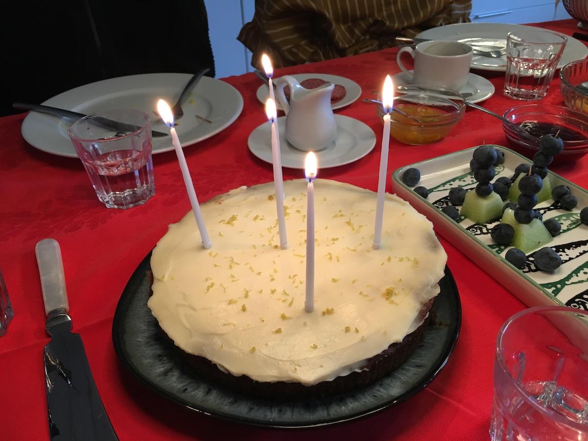 mors 56 års fødselsdag kage