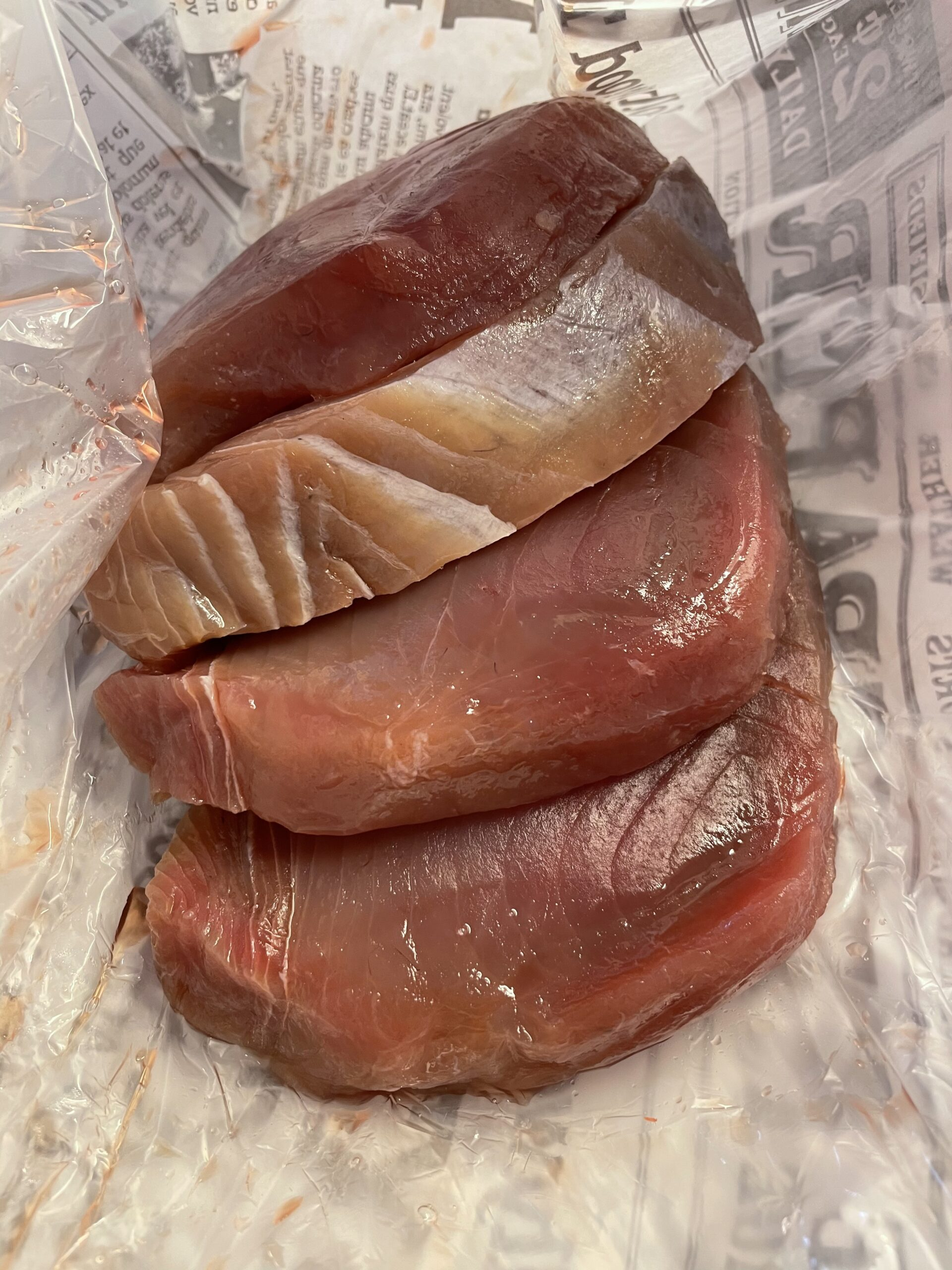 raw tuna steaks from torvehallerne 2021